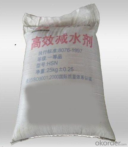 High Range Water Reducing and Anti-freezing Admixtures