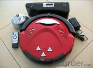 Robot Vacuum Cleaner with Remote Control Cyclonic Wet and Dry Robot Vacuum Cleaner