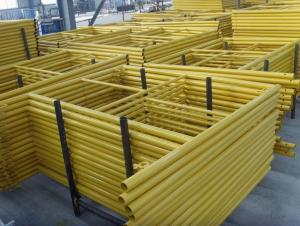 Steel Frame Formwork with High Quality and Strong Strength in Building Industry