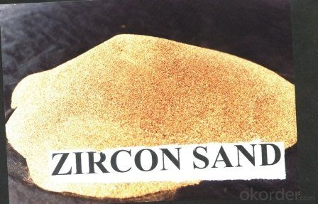 Refractory Material/ Zircon Sands and Zircon Flour 66%-67% Good Performance