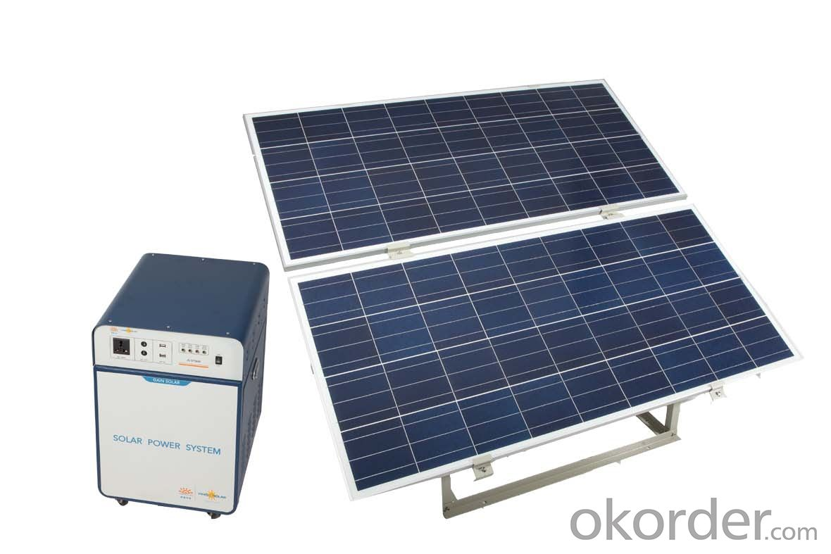 Off-grid Solar Power System JS-SPS-600