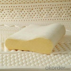 Latex Foam Pillow Breathable Green And Nature