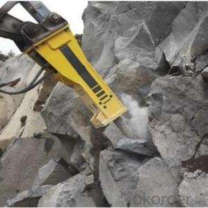 Underground Mining Articulated Hydraulic 4x4 Wheel Drive Trackless Stone Quartering Hammer