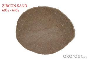 Zircon Sand and Zircon Powder High Performafce for Refractory Use 66-67%