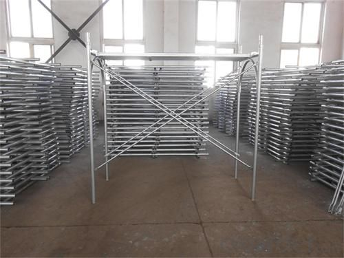 Steel H frame scaffolding  hight quality