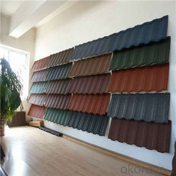 Stone Coated Metal Roofing Tile Colorful Stone Coated New Products Good Vision