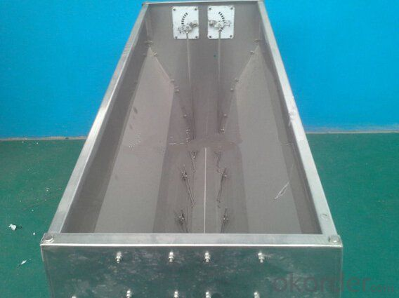Agricultural Equipment Stainless Steel Trough Feeder (1300x500x550mm)