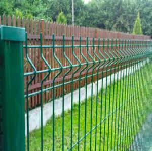 Galvanized And Powde Coated  Wire  Mesh Fence