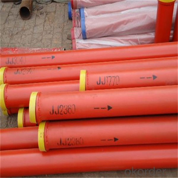 DN125 Hardened Pipe of Schwing Concrete Pump