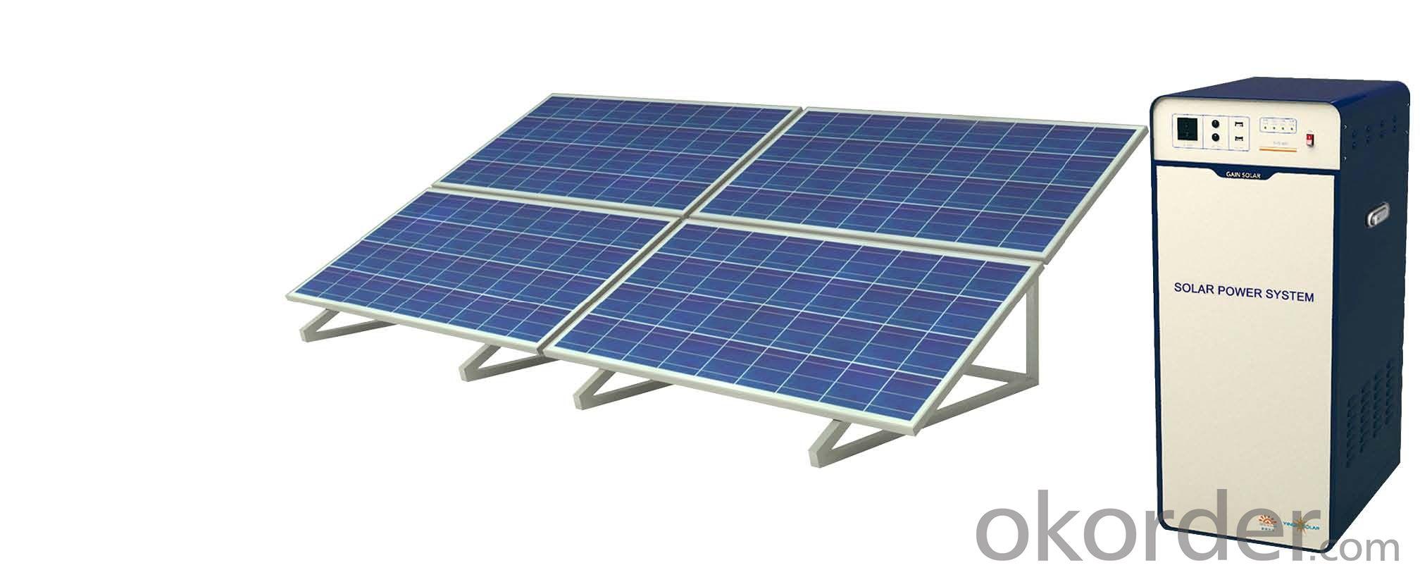 Off-grid Solar Power System JS-SPS-1000