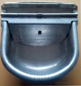 Galvanized Water Bowl with Self-Filled Float for Cattle or Horses