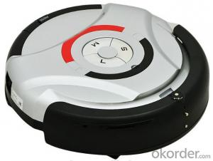 Mopping Robot Vacuum Cleaner with Remote Control and Schedule Time Setting Fuction