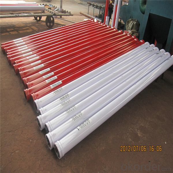 Concrete Pump Spare Parts 45Mn2 Boom Pipe