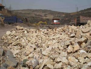 Natural Bauxite Lump for Cement Indystry in China CNBM