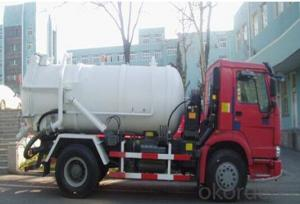 Tanker Truck with 4x2 HOWO 10000 Liter Fuel