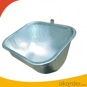 Agricultural Equipment Stainless Steel Feeding Trough(517*380*230mm)