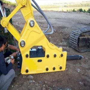 Rock Breaker Hammer / Excavator Mounted Vibro Hammer / Hydraulic Breaker for Sale