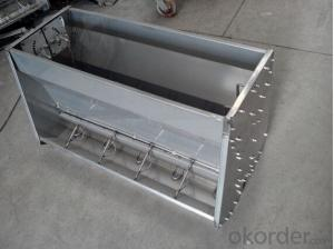 Agricultural Equipment Stainless Steel Trough Feeder(900x500x550mm)
