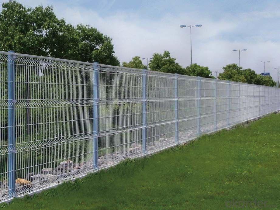High Quality  V  Type  Wire M esh  Fence