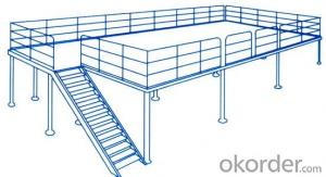 Steel Platform for Warehouse Storage Industries