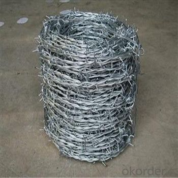 Galvanized and PVC Coated Barbed Wire Barbed Wire Lower Factory