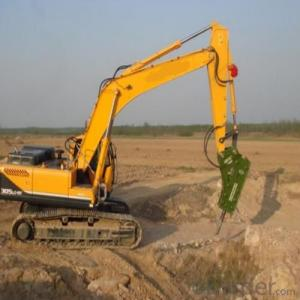 Hydraulic Excavator Jack Hammer is Used for Breaking Rocks