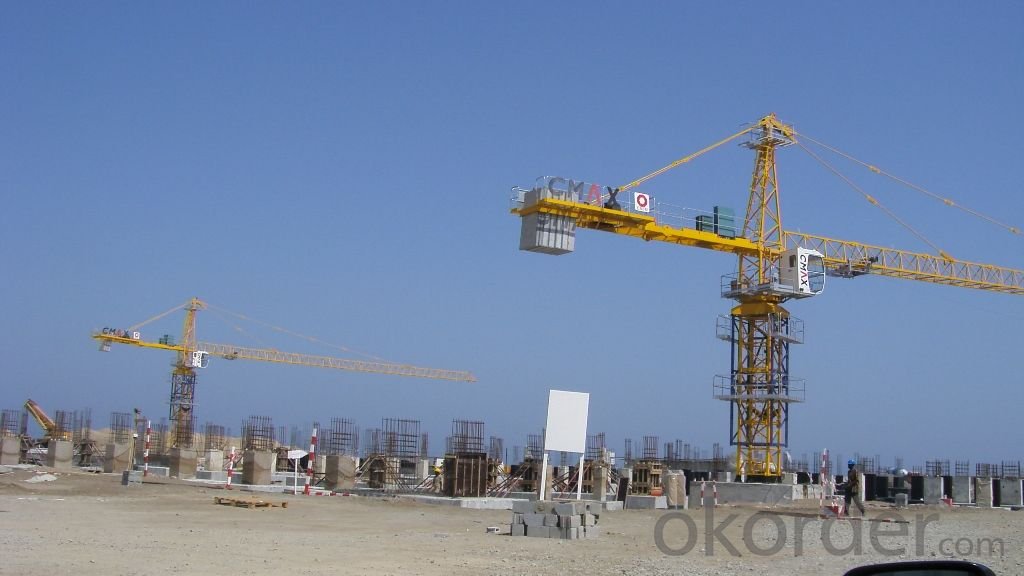 Guaranteed Meida Self Raising 6 Tons QTZ 5013 Tower Crane