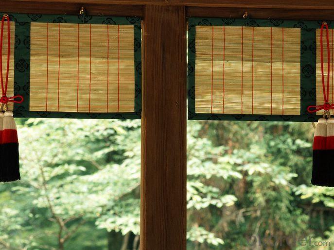 Natural Bamboo Fence Simple Bamoo Screen