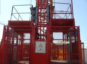 Building Hoist SC120/120TD 1200kg Painted