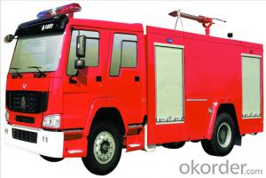 Fire Fighting Truck with Tank Capacity of 5000L