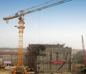 Tower Crane of TCP8040 with 20Ton Max Load and Span 80M