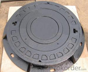 Manhole Covers Ductile Iron EN124 Black Bitumen Coating