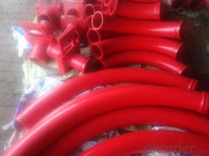 Concrete Pump Truck Parts Bend ZX-HD DN125 R500 90DRG