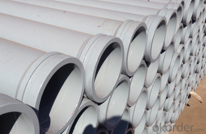 Concrete Pump Truck Parts Delivery Pipe Normal Pipe DN125 1MTR Thick 4.1MM ST52