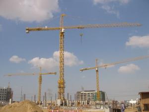 Tower Crane/60m 6018  High Maintenability Low Price-value Ratio