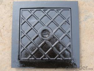 Ductile Iron Manhole Cover EN124 D400 Bitumen Coating