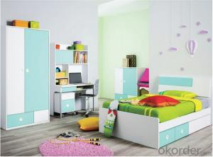 Child Colorful Bunk bed with Environmental Material