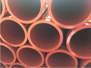 Concrete Pump Truck Parts Delivery Pipe Normal Pipe DN125 3MTR Thick 4.1MM ST52