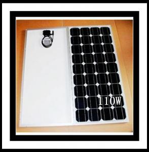 Solar Panels Mono-crystalline 110W Panel