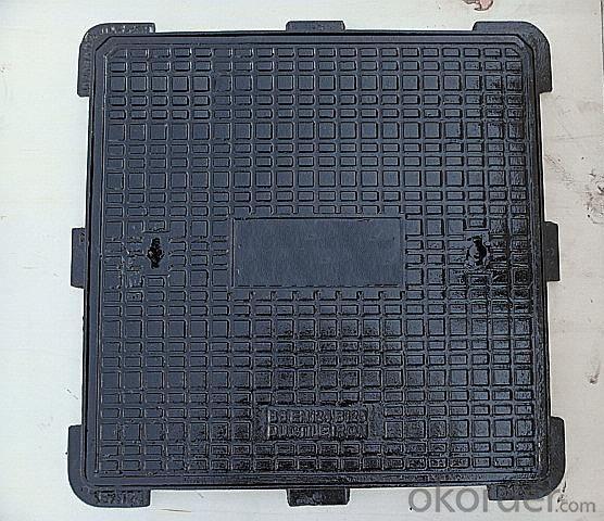 Manhole Cover Ductile Iron EN124 D400 Bitumen Coatings