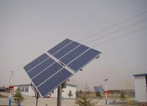 Feature for Solar Mounting System with Pile Post