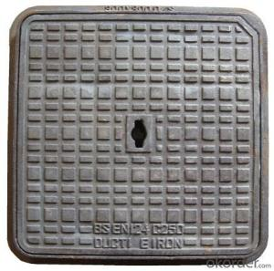 Manhole Covers Bitumen Coating Ductile Cast Iron