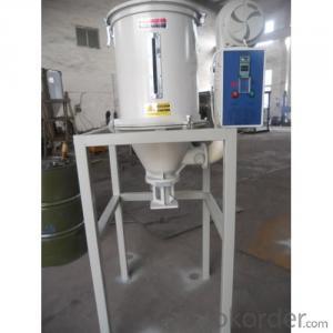 Plastic Pellets Mixing Drying Machine Plastic Hopper Dryer Plastics Dry Mixer