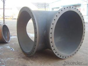 Ductile Iron Pipe Casting Iron EN598 DN1600