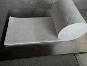 Ceramic Wool Blanket 1260 High Purity Al2O3 48% Fireplace Insulation
