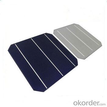 Monocrystalline Solar Cells High Quality 16.00%-18.20%