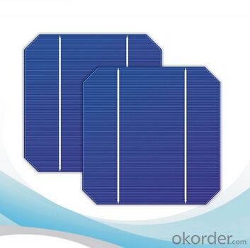 Monocrystalline Solar Cells High Quality 16.25-18.00