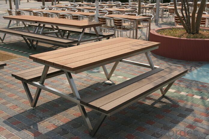 Wood Plastic Composite Flooring Use for Outdoor Chair