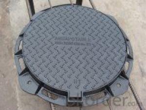 Manhole Covers Ductile Iron EN124 Bitumen Coatings