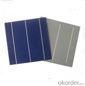 Monocrystalline Solar Cells High Quality 17.2%